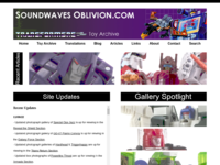 Soundwaves Oblivion: The Complete Toy Archive